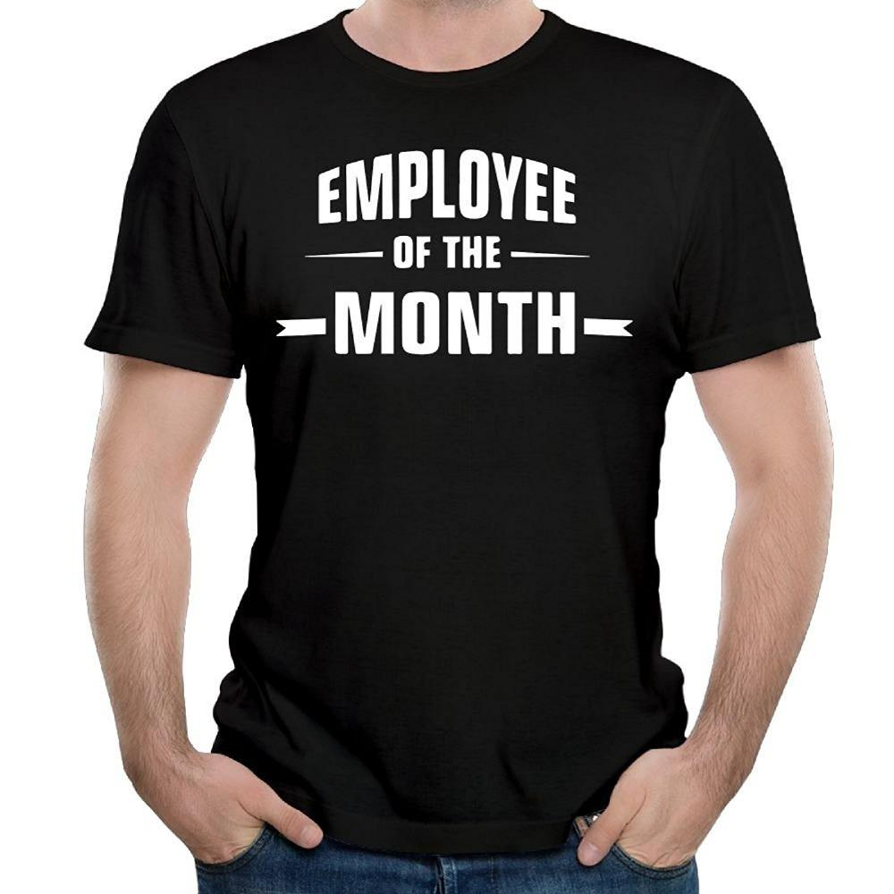 62135f0db Cool Graphic T Shirts Novelty Short Sleeve O Neck Mens Employee Of The Month  Tees Trendy T Shirts For Men Shirts Funny From Cafepresshirt, $11.0|  DHgate.Com