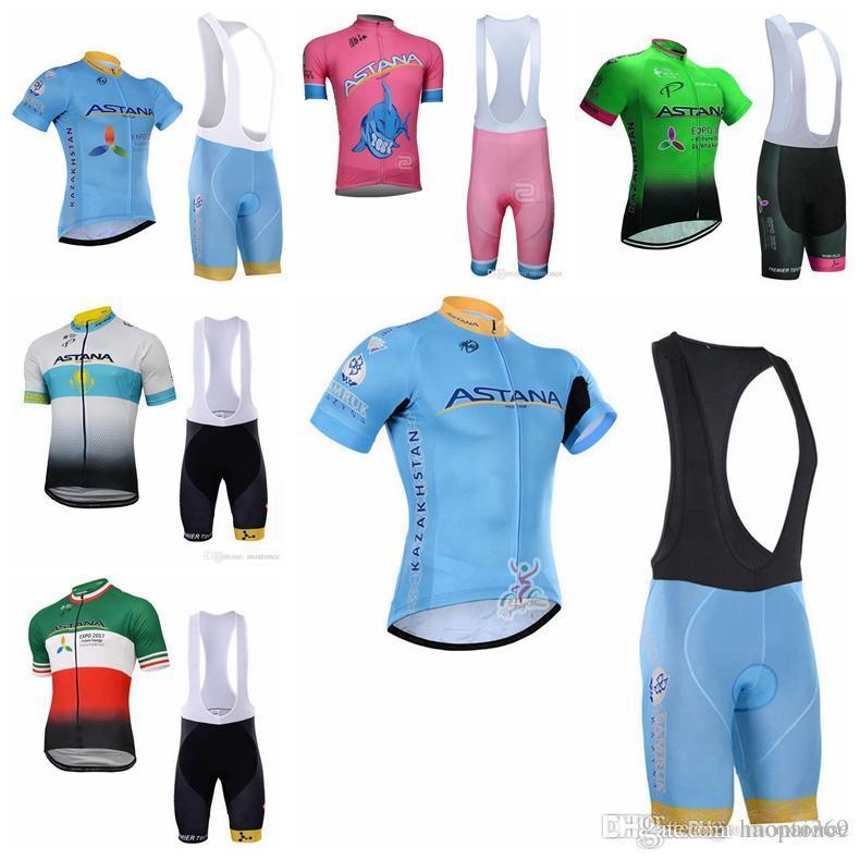 00ee15118b59 Maglia Campione Del Mondo Ciclismo Pro Team Astana Estate Mens Ciclismo  Maglie Abbigliamento Moto Traspirante MTB Ropa Ciclismo Quick Dry Pro  Ciclismo ...