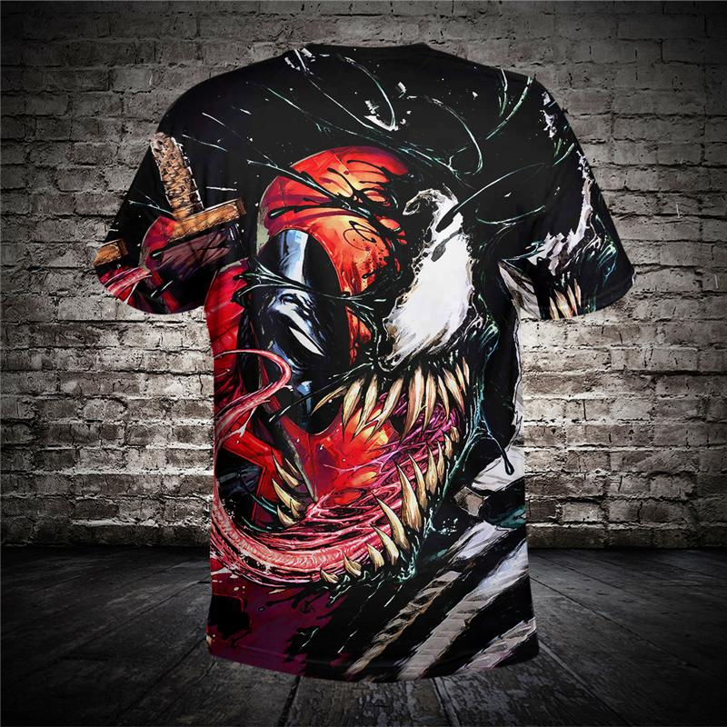6b091093537 New Design For Men S Women S T Shirt Summer 3D Printing Venom High Quality  Funny Tees Shirts Tops Plus Size 6XL Drop Shipping Cool Tee Shirt Designs  Buy ...