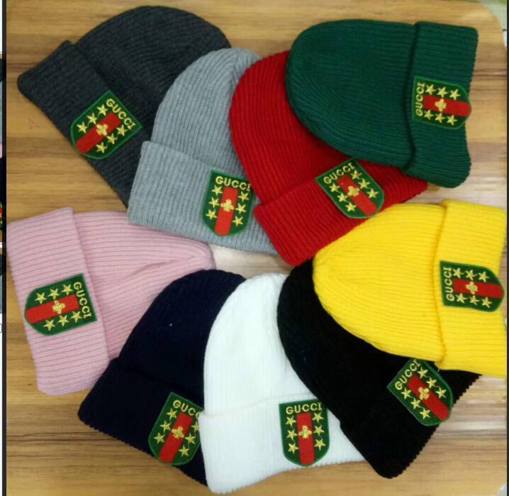 884ee1582da 2018 Newest Unisex Autumn Gc Winter Men Brand FILA Knitted Hat ...