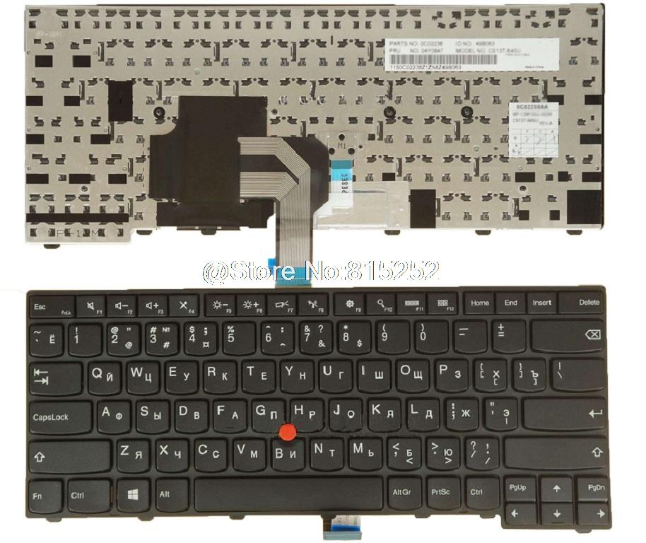 keyboard for Lenovo For Thinkpad T440 T440P T440S T431S T450 T460 E431 E440  Russia RU 04X0124 04X0162 0C43929 With Backlit New
