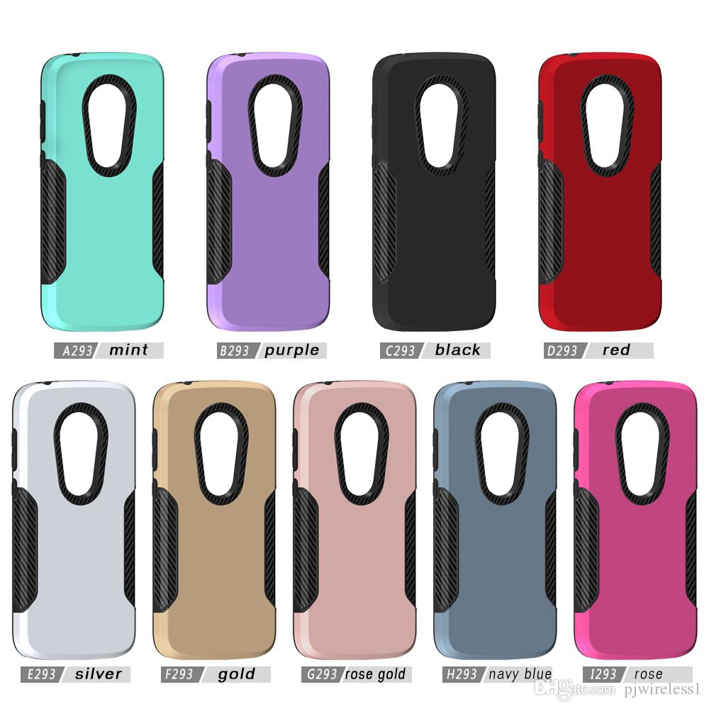 new styles c0c44 61155 Phone case For Motorola Moto E5 Plus MetroPCS For E5 play E Plus For  alcatel 7 folio MetroPCS Hybrid Armor protection cover C