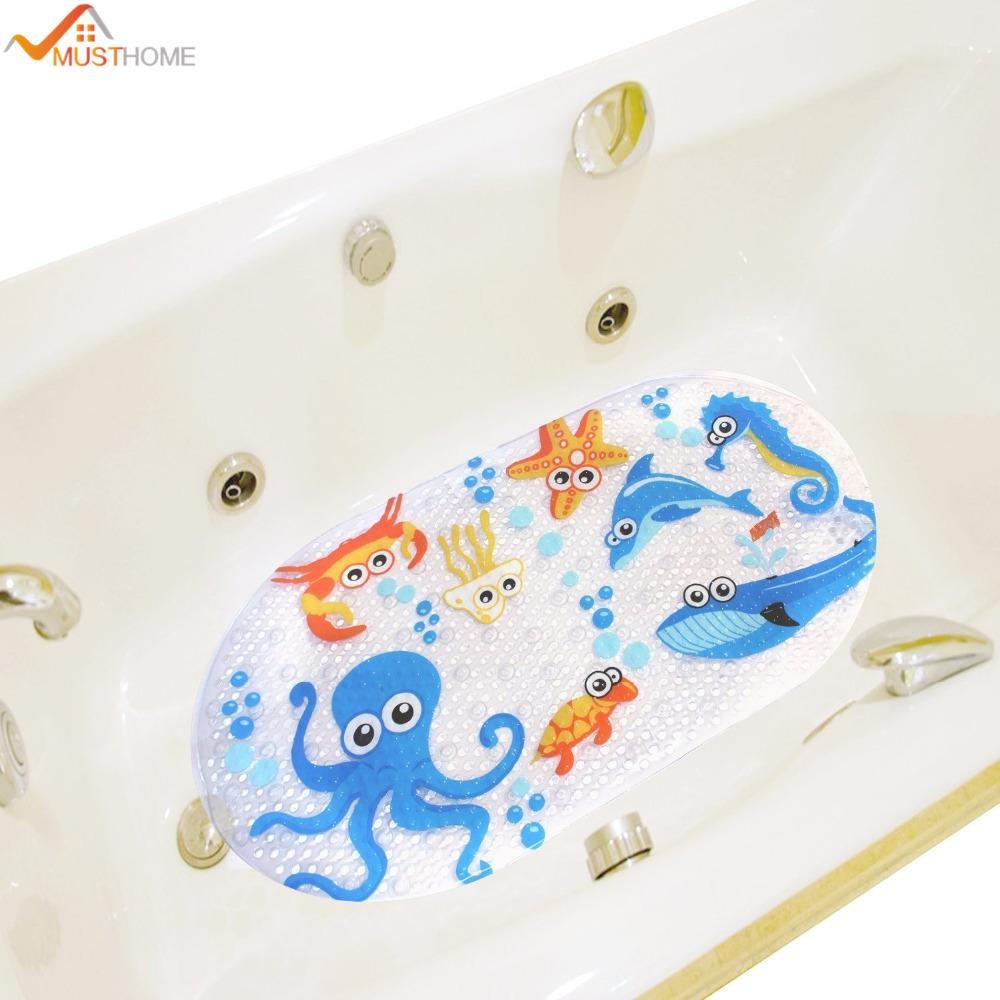 Wholesale 39cmx69cm Non Slip Kids Bath Mats For Shower Cartoon Octopus  Design Bathtub Mat For Kids Non Slip Bath Mat Non Slip Shower Mat Non Slip  Shower ...