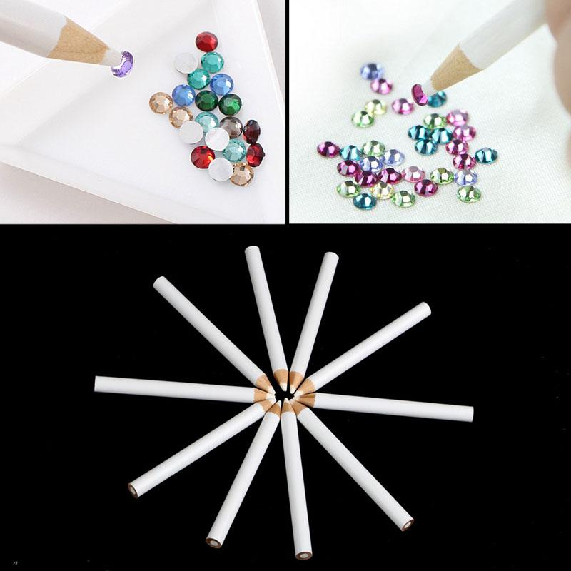 Nail Art Rhinestones Gems Picking Tools 3d Design Painter Pencils ...