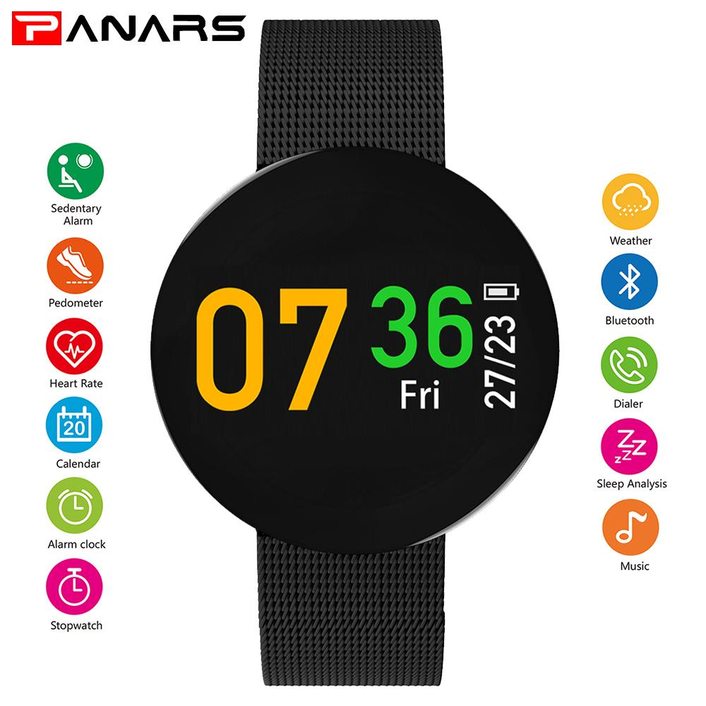 Active Company Fitness Tracker Digital Mens Smart Watch Men Alarm Clock Ip68 Waterproof Smartwatch Dynamic Heart Rate Sport Stopwatch Watches Men's Watches