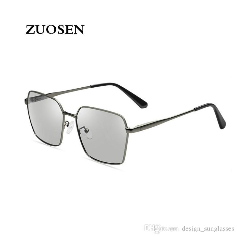 75cb275932 ZUOSEN High Quality Designer Sunglasses Fashion Polarized Lens ...