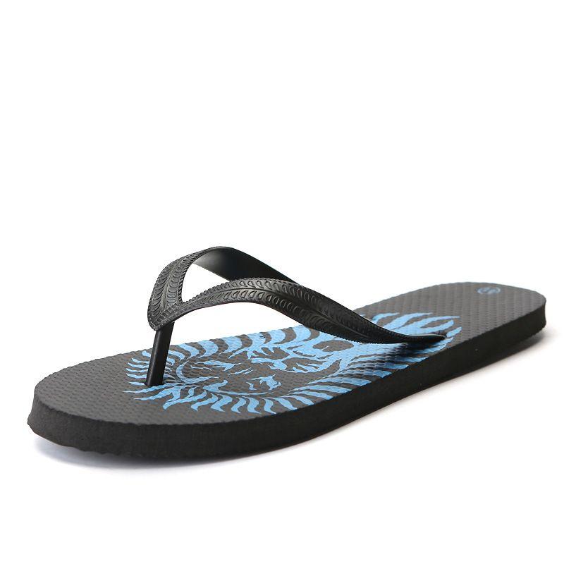 125ae7d4d Flip Flops Men Beach Flat Sandals Open Toe Outdoor Casual Male Sandals Flip  Flops 26 66 Big Sizes Summer Shoes Men Slippers Womens Loafers Fashion  Shoes ...