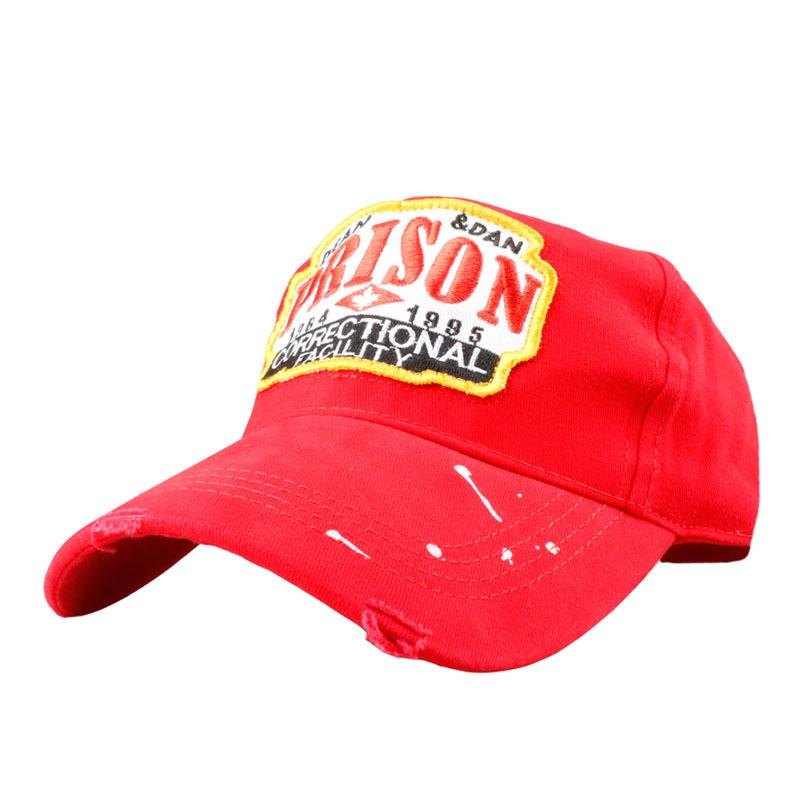 High Quality PRISON Cap Fashion Embroidery Hats for Women Men ... f4b3a91fb0f7