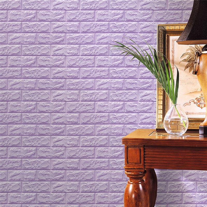 2018 curtain pe foam 3d wallpaper diy wall stickers wall decor