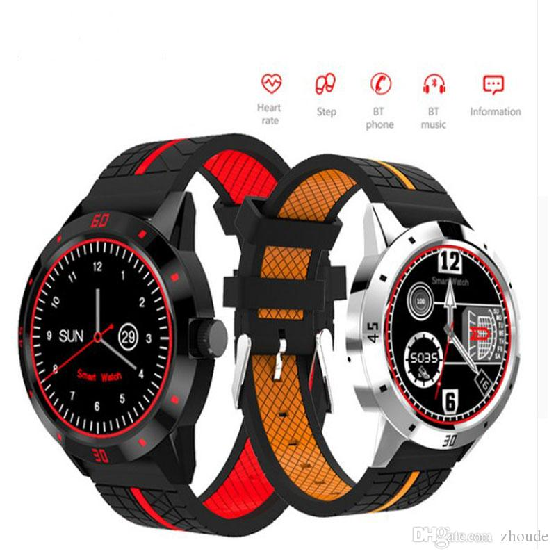 N6 Bluetooth Smart Watch with Remote Camera Control Pedometer Sports  Fitness Tracker Heart Rate smartwatch wristwatch