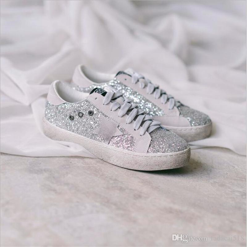 Sequin Small Dirty Shoes Female New Student Board Shoes Wild Casual ... 7cc624387970