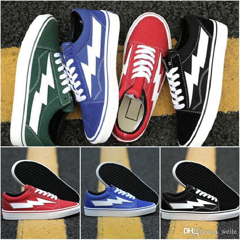 2018 Revenge X Storm Old Skool Canvas Womens Mens Casual Sneakers ... 611113d4a