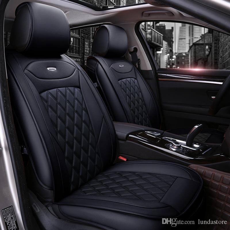 Luxury Pu Leather Car Seat Covers For Audi A6l R8 Q3 Q5 Q7