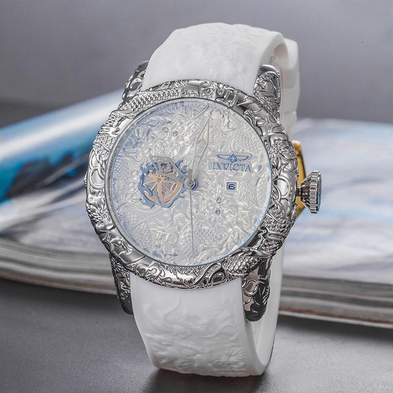 Großhandel Neue Muster Quarz Mann Armbanduhr Invicta Große ...