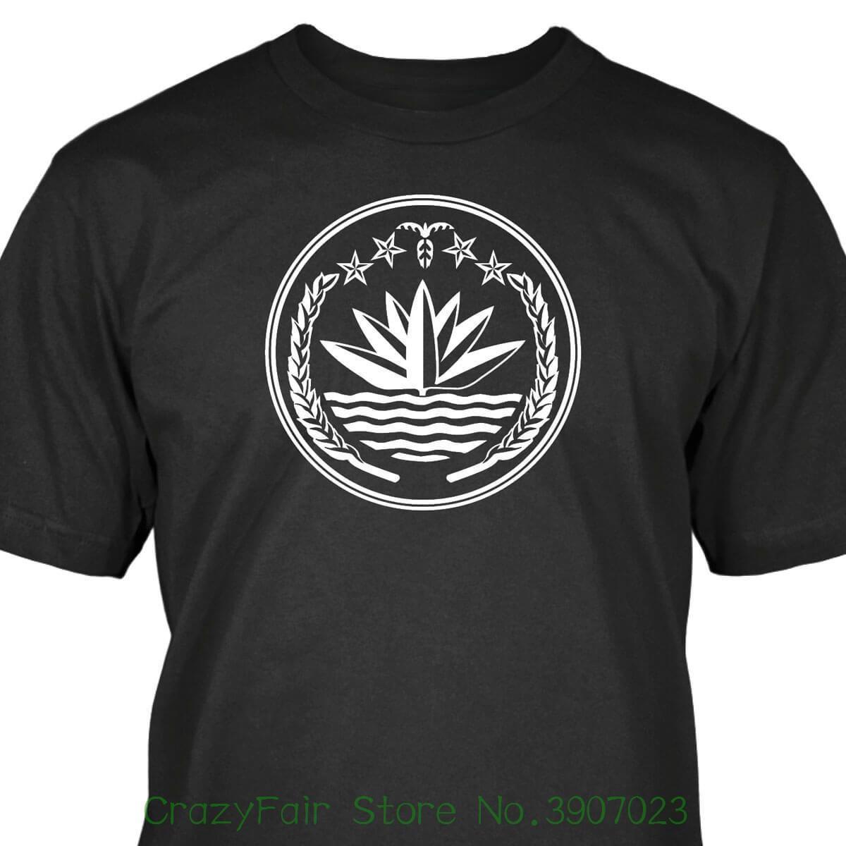 0949efd0ca6 Bangladesh T Shirt Top Tee 100% Cotton Humor Men Crewneck Tee Shirts T  Shirts Print Tees Online From Crazyfairstore