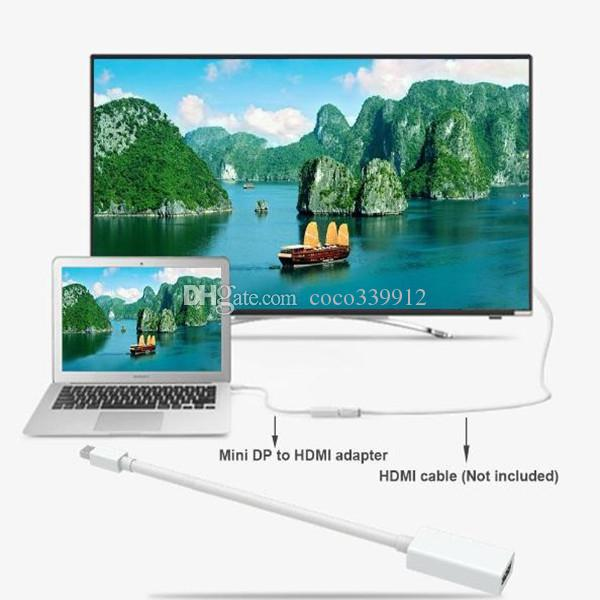 Mini DisplayPort DP Male to HDMI Female converter Adapter Cable For Nootbook MacBook Pro Air NEW TOSHIBA NOTEBOOK