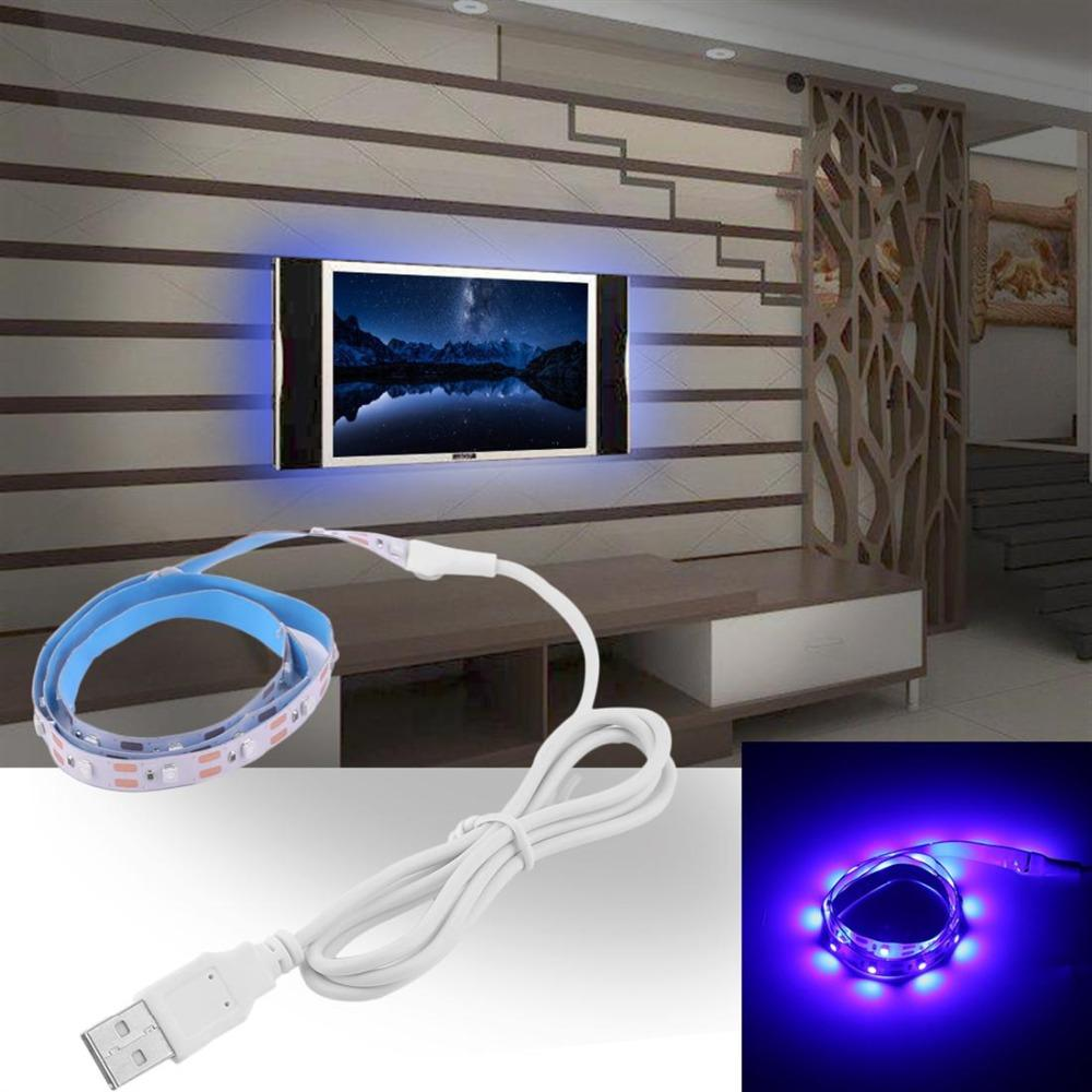 Dc5v Usb Led Strip Light Tv Background Lighting Flexible Diode Tape Along With Multicolor Strips Wiring No Waterproof 50cm 1m 2m Lamp Rgb Neon Ribbon Kitchen Lights