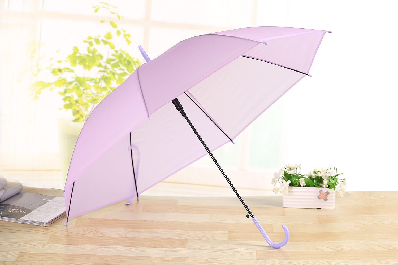 Новая автоматическая экологическая многоцветная прозрачная прозрачная 55 * 8K зонтики длинная ручка танцевальное представление пляж свадьба для детей взрослых
