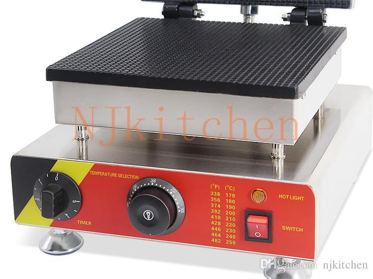 Livraison Gratuite Usine Commercial Usage Commercial 110v 220v Gaufre Cône Maker Fer Baker Faire La Machine Moule