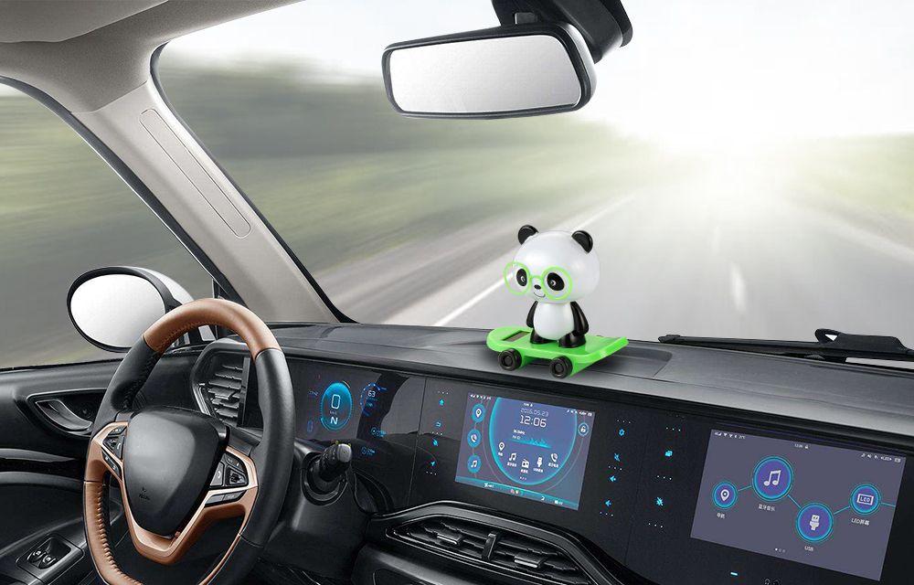 Acheter Voiture Ornements Danse Bobble Tete Panda Poupee Automobiles
