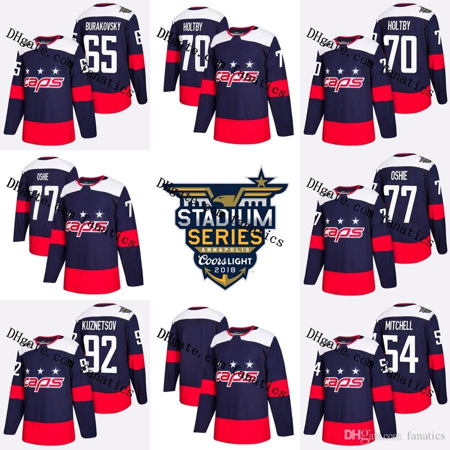 0e6bf16334cd 2018 Stadium Series Stanley Cup Champions Capitals TJ Oshie Braden ...