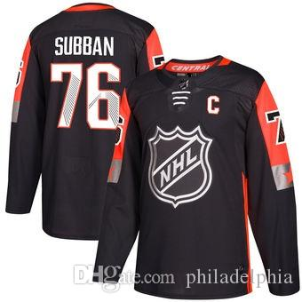 2018 Nhl Hockey Jerseys Cheap Custom Men S Nashville Predators PK Subban  Black NHL All Star Game Central Division Authentic Player Jersey AD UK 2019  From ... 06151e6fc3c