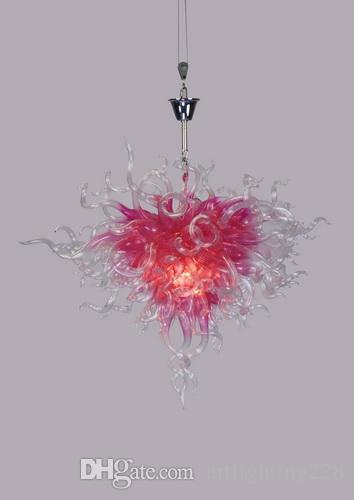 Absolutely Striking Hand Blown Murano Glass Art Chandelier Sun Rise
