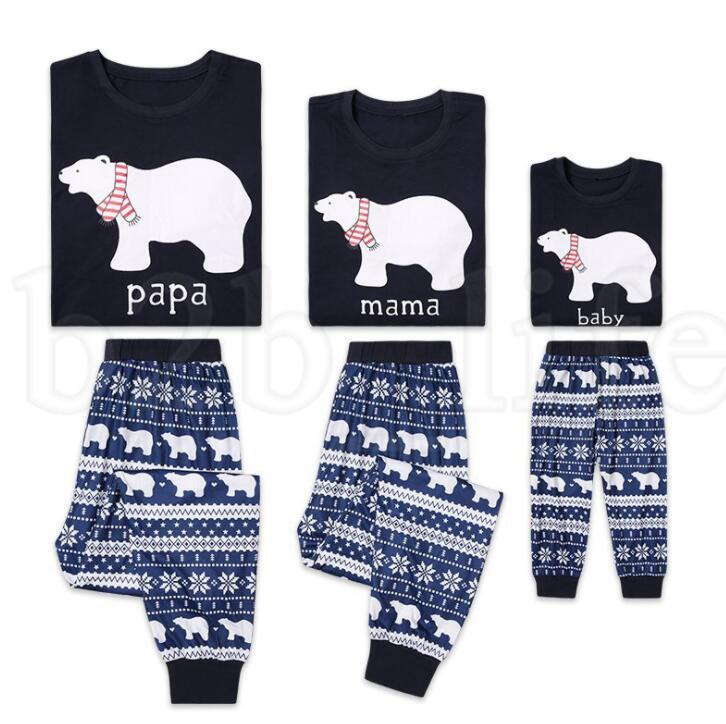 Family Christmas Pajamas Papa Mama Child Matching Sleepwear Couples Matching  Clothing Christmas Family Homewear Nightwear KKA6118 Pajama For Kids Kids  ... f4945005b