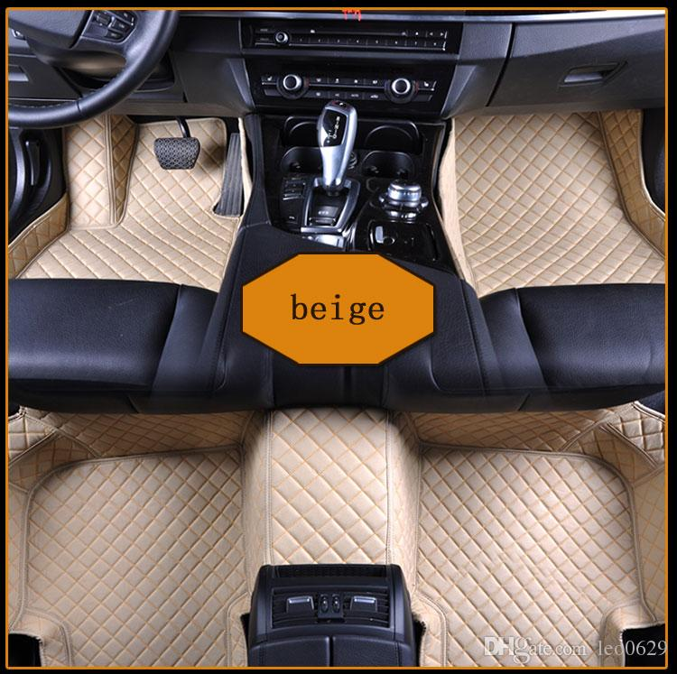 Wholesale Custom Car Floor Mats for porsche 911 carrera macan cayenne 3D Luxury Carpets Alfombra Coche Tapete Carro
