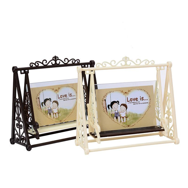 2018 Creative Vintage LOVE Swing Couple Frame Decorations 5 Inch ...