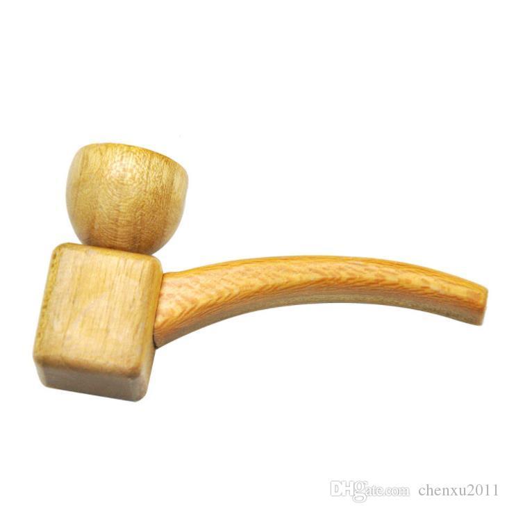 Madera, tubería, madera maciza, madera, tubería, tubería de madera nueva.