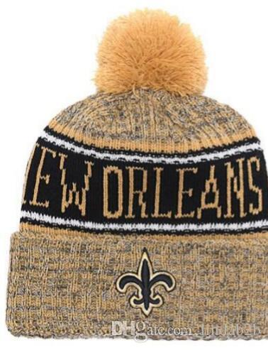 2019 2019 Team SAINTS Beanies Caps Pom Sports Hat Men Women 32 Teams All  Caps Knitted Hat Top Quality Hat More 5000+Styles From Lindab2b c890722c006