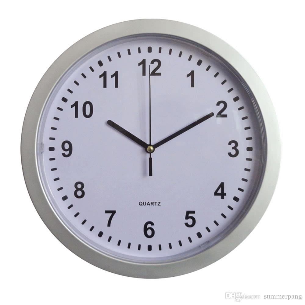 10 Inch Modern Versatile Wall Clock Secret Safe Money Home Security Stash  Stuff Storage Container Concealed Box Plastic Jewelry Decoration Floor  Clocks ...