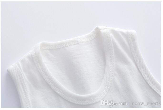 Hot Sale 2018 New Style Cute Boys Girls T-shirt Baby Clothing Little Boy Girl Summer Shirt Cotton Tees Cartoon Childern Clothes