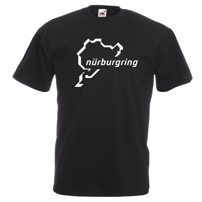 Nurburgring T Shirt Racing Car Motorcycle Track Clothing T Shirt