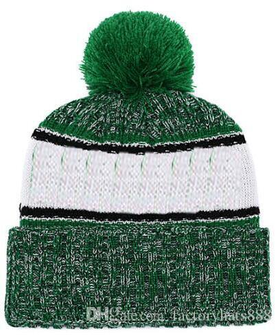 2019 Autumn Winter Hat Sports Hats Custom Knitted Cap With Team Logo  Sideline Cold Weather Knit Hat Soft Warm BOS Celtics Beanie Skull Cap  Snapback Caps ... 002cc790a57