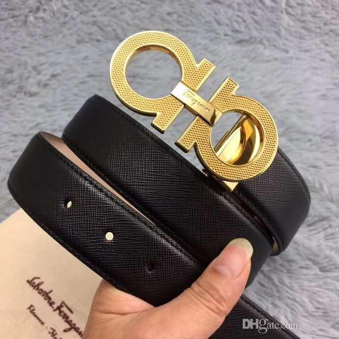 2f22b2f27c84b Big Large Buckle Genuine Leather Belt with Box Designer Belts Men Women  High Quality New Mens Belts Luxury Belt Box Online with $71.86/Piece on  Grass2's ...