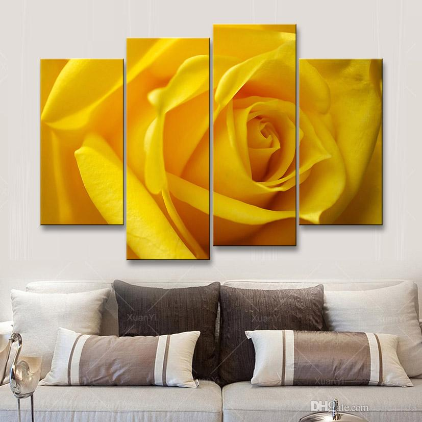 painting & calligraphy print Rose canvas poster wall art living room restaurant Bedroom Decorative paintings MGE4-009
