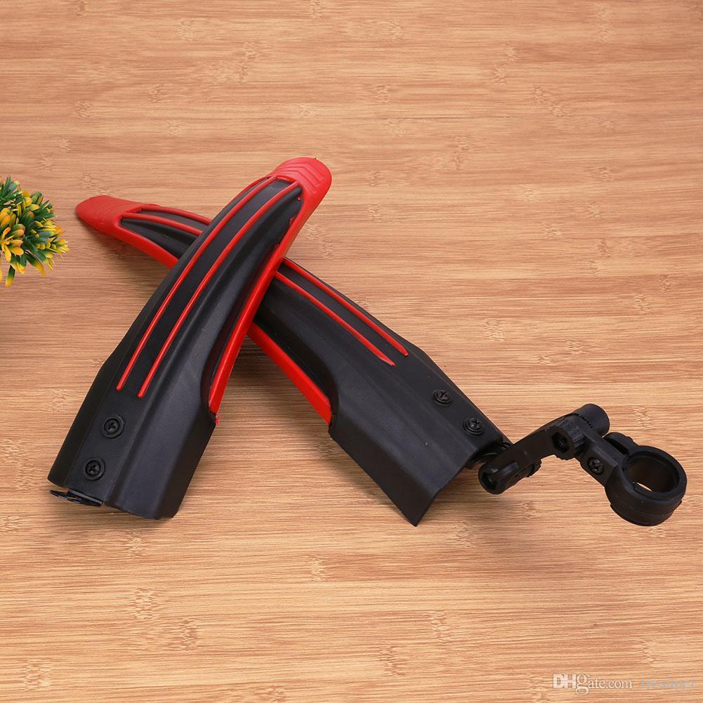 Garde-boue amovible garde-boue avant / arrière pour VTT route VTT vélos garde-boue flaps 4 couleurs
