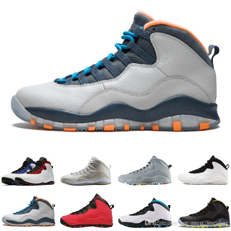 63e1c950f5d0 2019 Cement 10 Westbrook 10s I M Back White Black Cool Grey Bobcats Chicago  Steel Grey Men Basketball Shoes 10 Sneakers Size 40 47 From Cn men sneaker