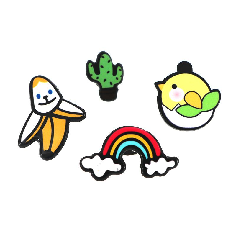 2018 New Cartoon Rainbow Banana Sweet Christmas Cactus Chicken ...
