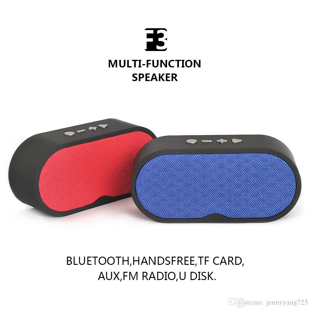 Factory Support F3 Pill Bluetooth Speaker Protable Wireless Speaker Mini Stereo Handsfree Music Sound Box With Handle outdoor MP3 Player