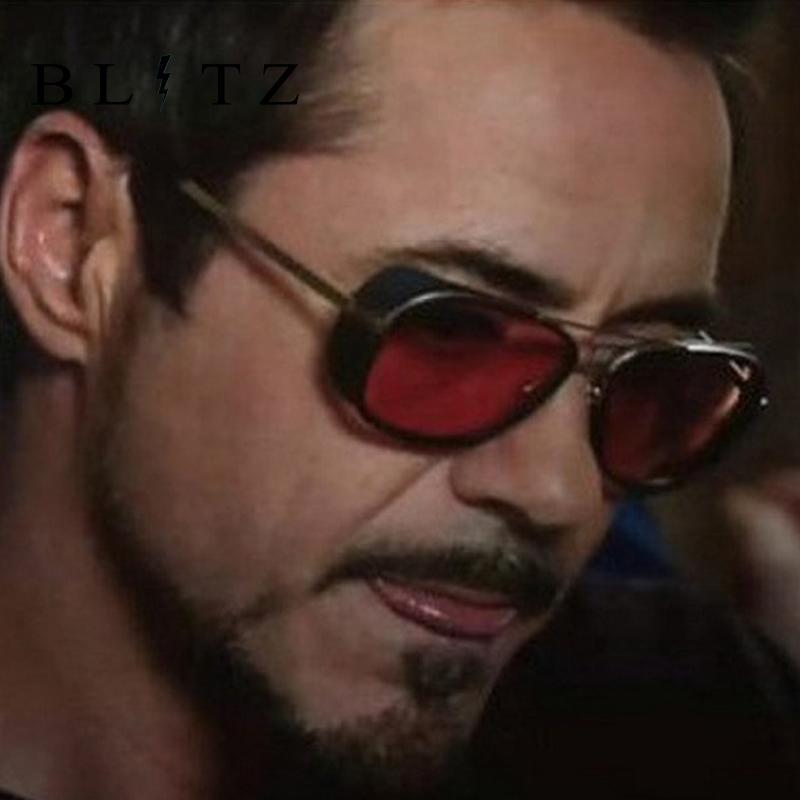 ab4b604f633 Acquista Tony Stark Iron Man 3 Occhiali Da Sole Donna Uomo Designer Di  Marca Specchio Occhiali Da Sole Lunette Oculos De Sol Femme Masculino Gafas  Hombre A ...