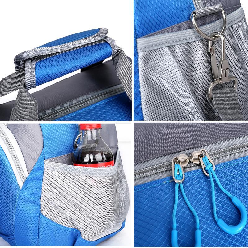 Hot Professional Top Nylon Waterproof Sports Gym Bag Women Men For Gym  Fitness Training Shoulder Travel Handbag Yoga Bag Luggage Yoga Top Uk Uk  Yoga Clothes ... 0605be39de951