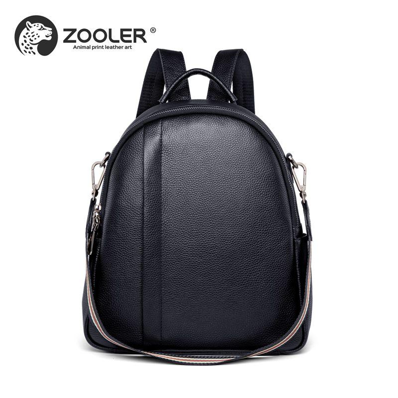 Women Bag ZOOLER Genuine Leather Backpacks 2018 Cowhide Backpack Real  Leather Girl Travel Bolsos Mujer De Marca Famosa 2018 Q202 Backpacks Cheap  Backpacks ... f53eda40f0a83