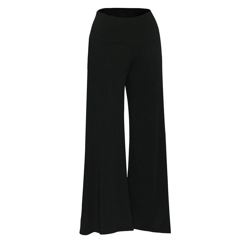 9501e77ca8 Compre Tallas Grandes Para Mujer Cintura Alta Palazzo Flare Pantalón Ancho  Pantalones Largos Pantalones Ropa De Mujer Sexy A  22.89 Del Bibei08