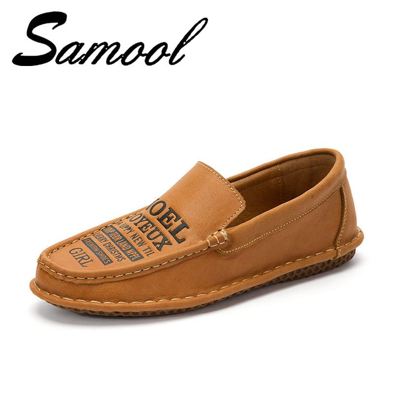 b864d470af7 Compre Zapatos De Cuero Para Hombre Hecho A Mano De Cuero Mocasines  Masculinos Diseño Superestrella Slip On Comfort Peas Zapatos Zapatillas  Hombre LX3 A ...