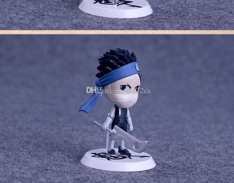 7cm Anime Naruto Figure Toy Sasuke Kakashi Sakura Gaara Itachi Obito Madara Killer Bee Mini Model Doll for Children
