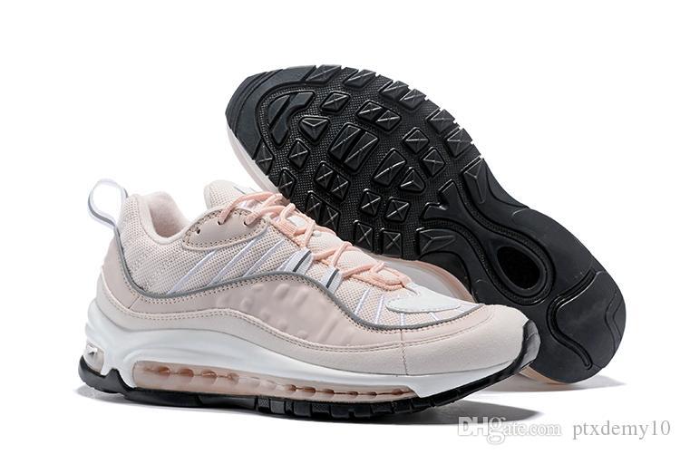NIKE Air max 98 98s pointure 40 46 2018 98 Bullet Chaussures Chaussures de créateurs pour hommes Cors