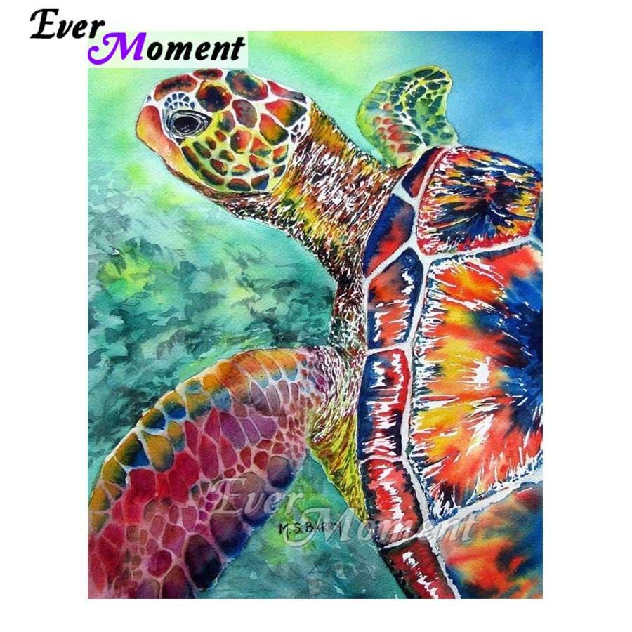 Satın Al Toptan Elmas Boyama Renkli Deniz Kaplumbağası Elmas Mozaik